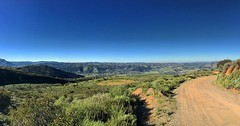 View from the trail this morning, celebrating the Grateful Run/Hike.