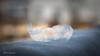 Verbogene Seifenblase im Winter by CappyFoto