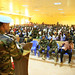 UNAMID Bangladeshi peacekeepers conducts a health awareness seminar on HIV/AIDS and malaria at the University of El-Geneina, West Darfur