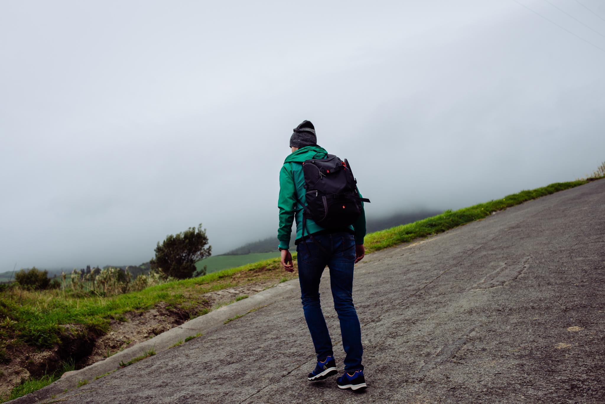 Azori szigetek Lagoa de Fogo túraútvonal