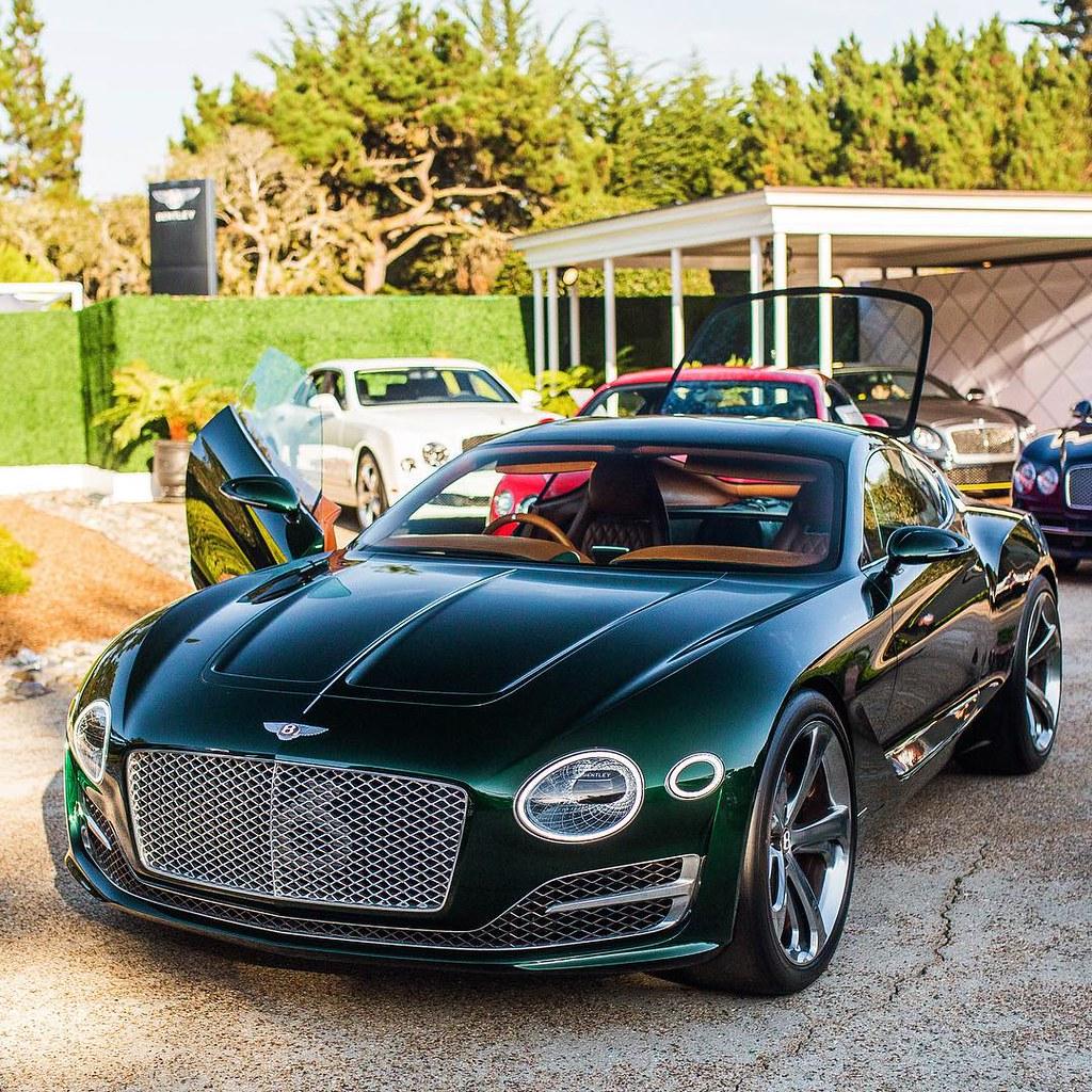 Bentley Concept At Pebble Beach