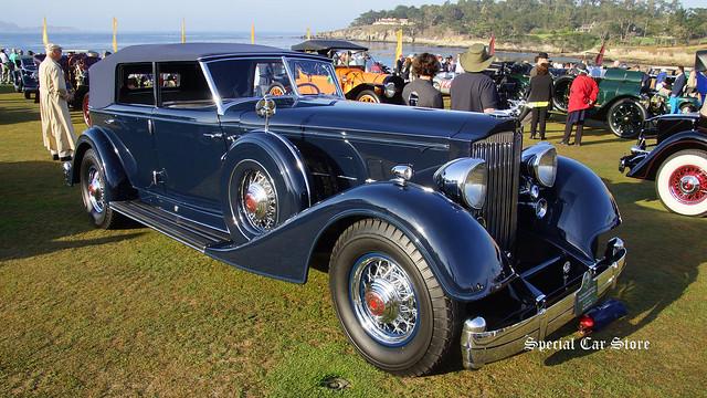 1934 Packard 1108 Twelve Dietrich Convertible Sedan