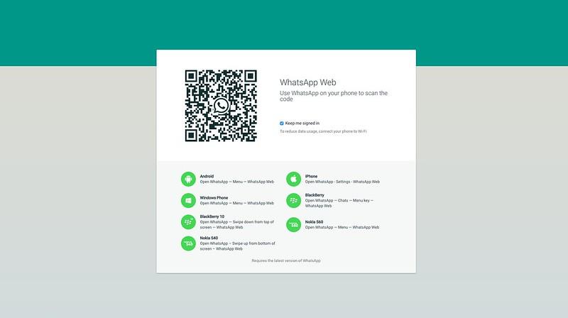 WhatsApp Web - Scan QR Code
