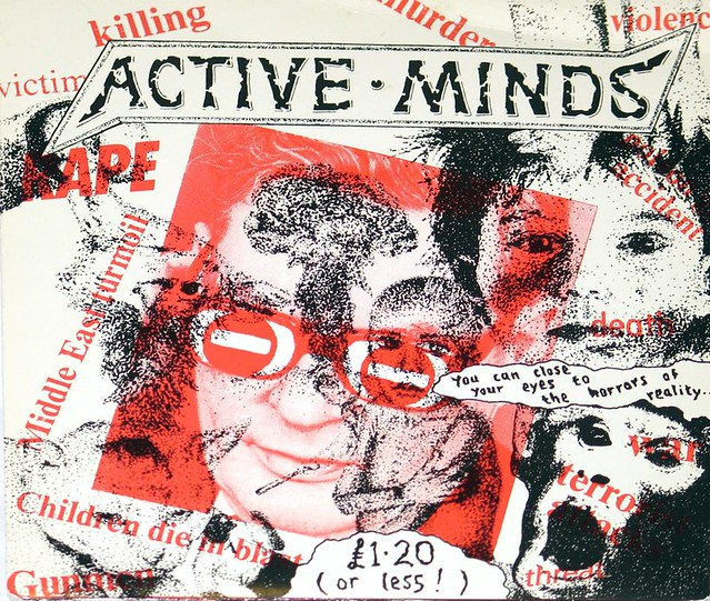 Active Minds - You Can Close Your Eyes to the Horrors of Reality (Punk)