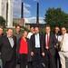 Achim Barchmann mit Kollegen bei der entwicklungspolitischen Tour im Volkswagenwerk Wolfsburg