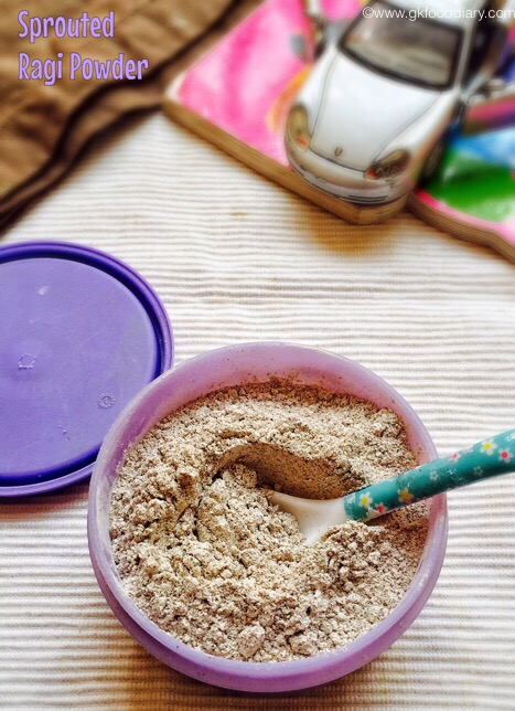Sprouted Ragi powder for Babies