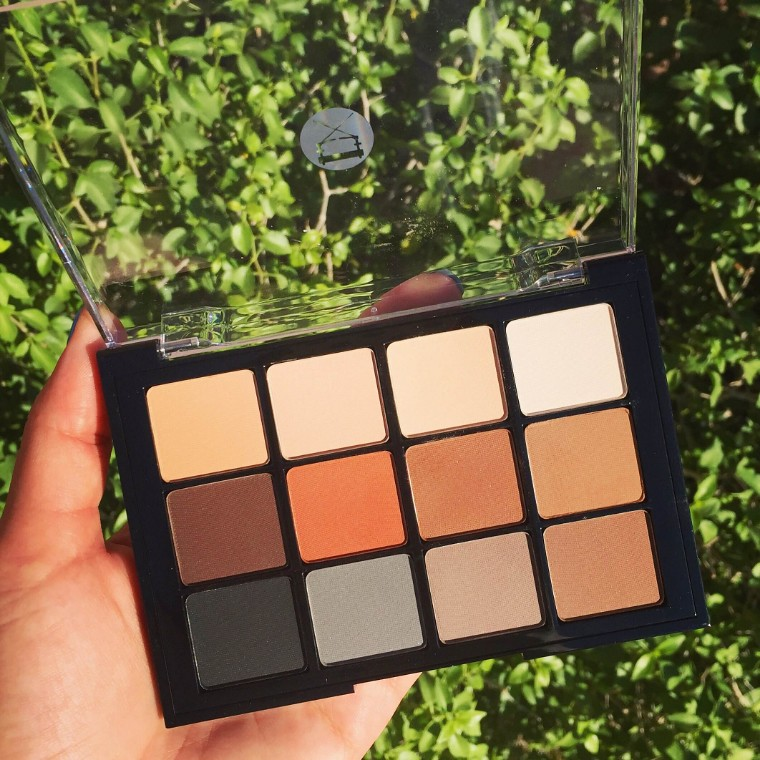Viseart Neutral Matte Eyeshadow Palette | adaatude.com