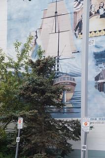 032 Muurschildering Anchorage