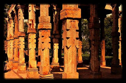 INDIEN- Qutab-Minar-Areal, islamische Baukunst,  12-14. Jh., 13025/5746