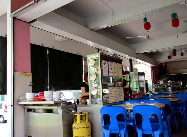 Uncle Lau Corner kampua stall