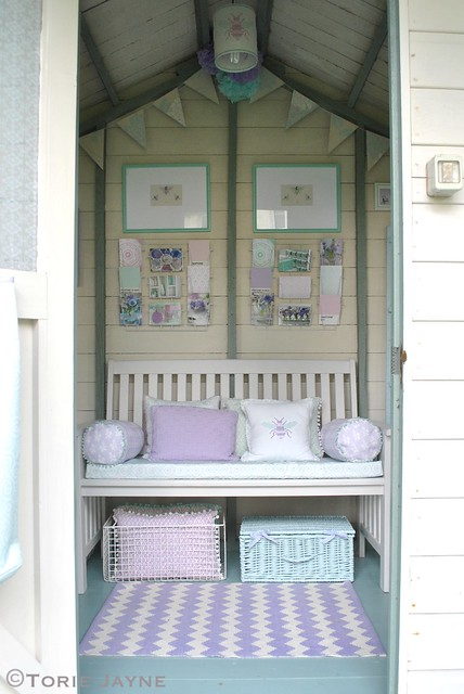 Through the summer house door