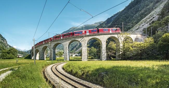 Jedinečná Bernina Express na Slevomatu.
