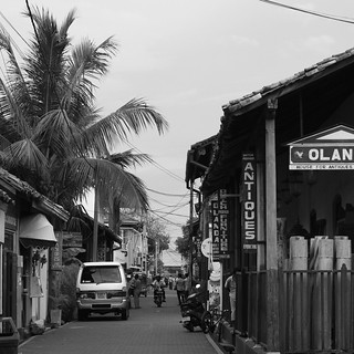 Street in Galle, Sri Lanka
