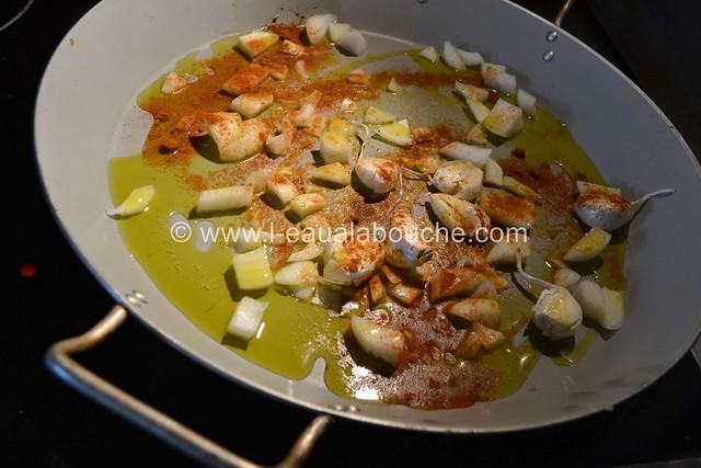 Cuisses de Poulet & Pommes de Terre Rôties © Ana Luthi Tous droits réservés 001
