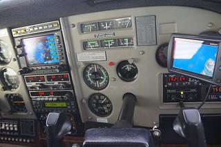 041 Cockpit vanuit positie co-piloot