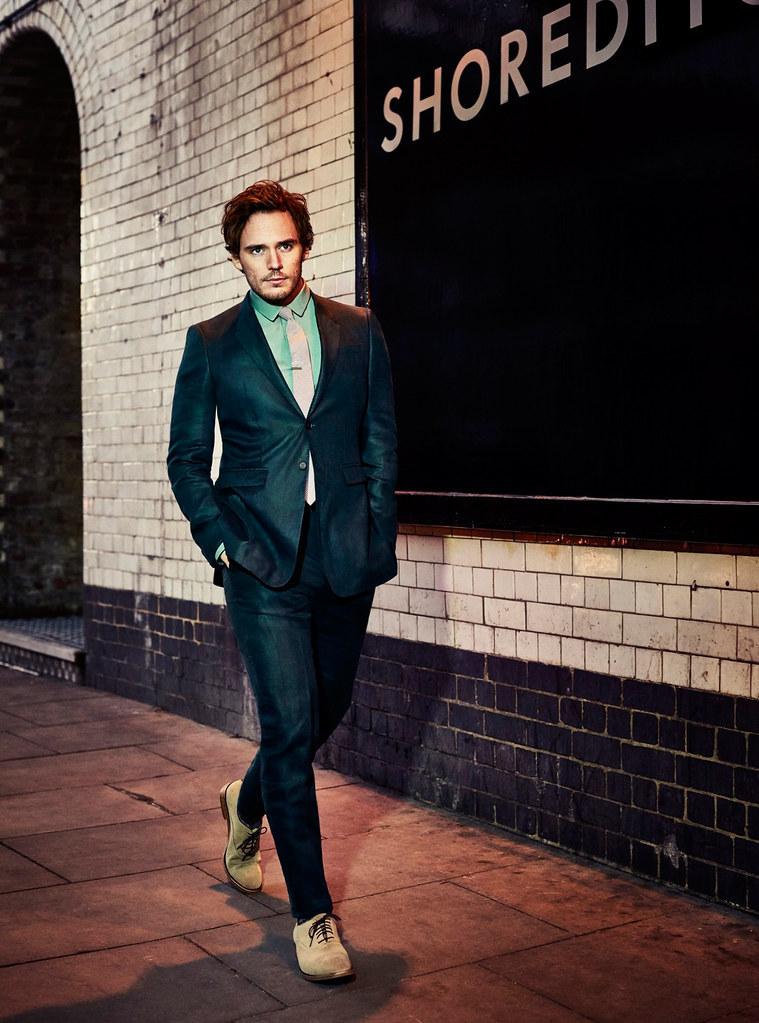 Сэм Клафлин — Фотосессия для «GQ Style» 2015 – 4