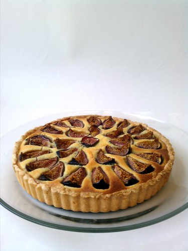 Figs And Almond Cream Tart