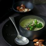brokkoli krémleves chiával