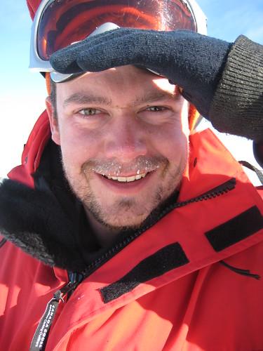 UQ's Dr Paul Dennis in Antarctica