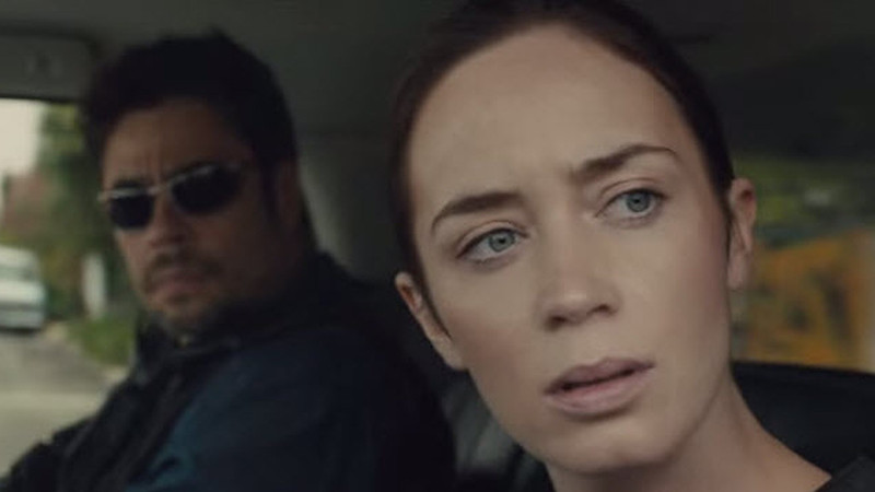 Benicio del Toro and Emily Blunt have different approaches to drug cartels in SICARIO.