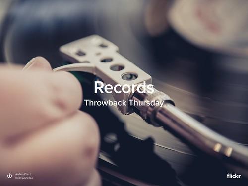 Throwback Thursday: Records