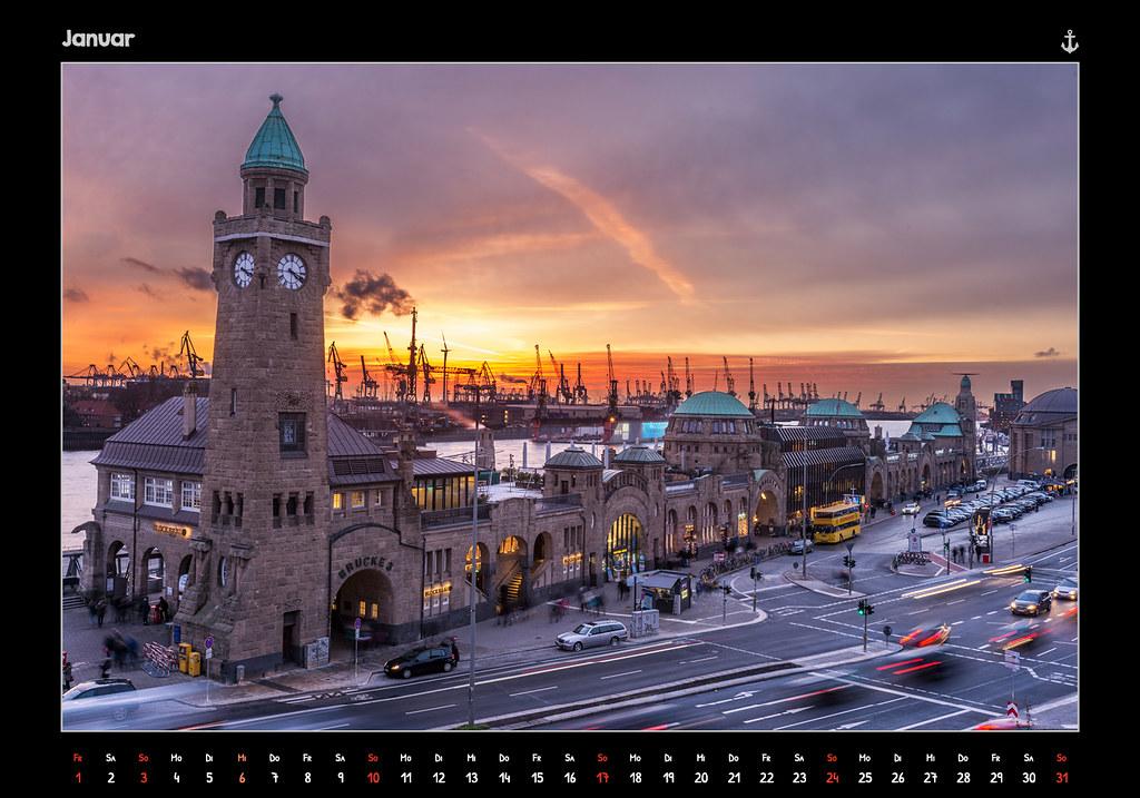 kalender2016_HAMBURG 2016 - FROM DUSK TILL DAWN - KALENDER // JANUAR