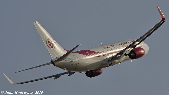 7T-VKB - Air Algerie Boeing 737-8D6