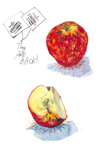 Sketchbook #92: Apples