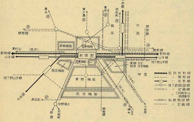 新幹線新宿駅1