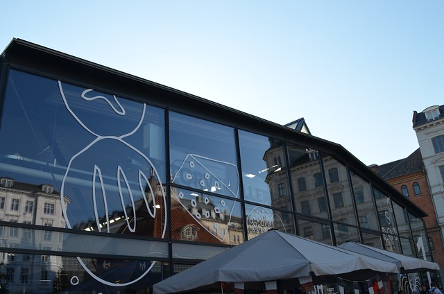 Copenhagen Torvehallerne food market building
