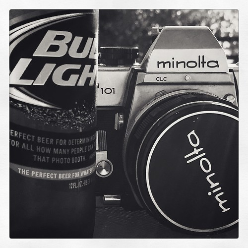 My 2 favorite things. Haven't shot film in years. Gonna give it a try.