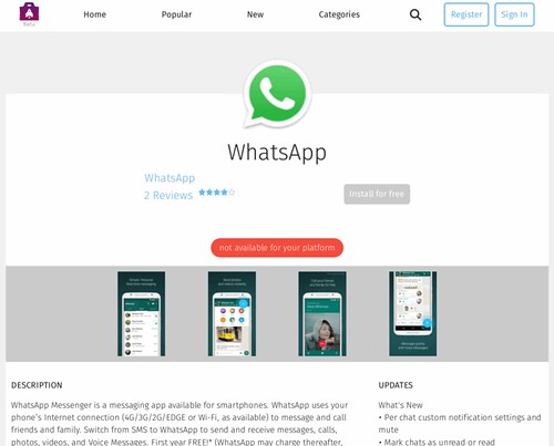 WHATSAPP FOR FIREFOX