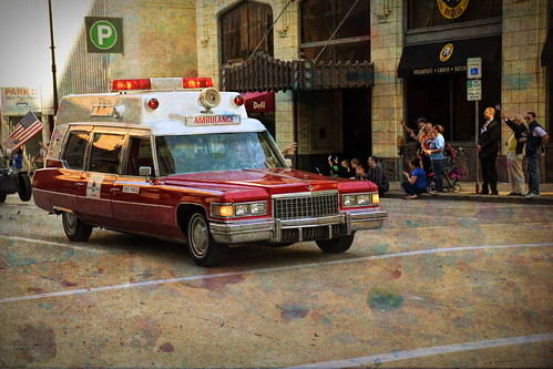 Ambulance - Textures - color burst