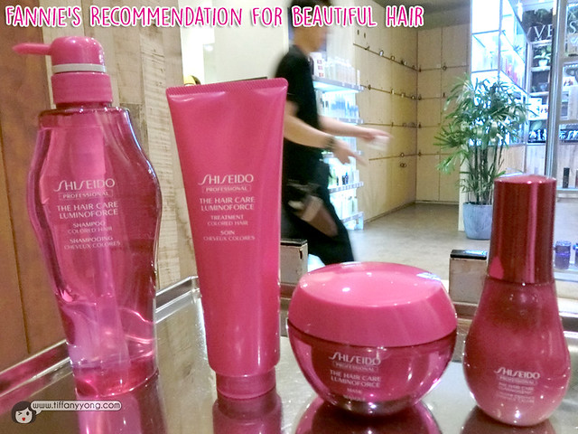 Shunji Matsuo Shiseido Hair product