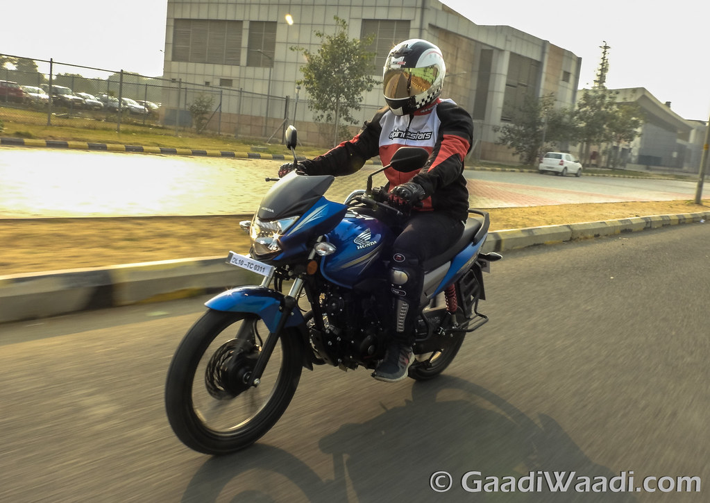 Honda CB Shine Sp test ride review-21