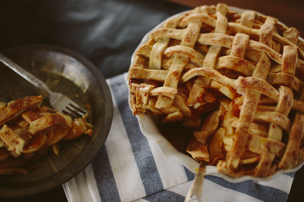 Dubliner Brandy Apple Pie