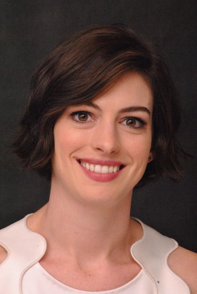 Энн Хэтэуэй — Пресс-конференция «Интерстеллар» 2014 – 85