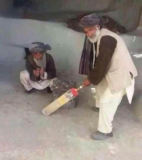 افغان کرکټ او مشران