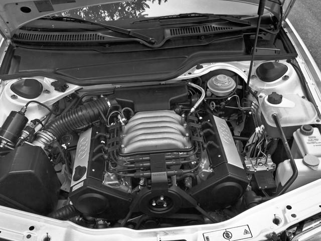 Двигатель Audi 100 C4 для рынка США. 1990 – 1994 годы