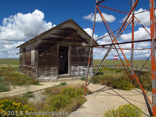 The generator shed at the Medicine Bow Aircraft Arrow, Wyoming