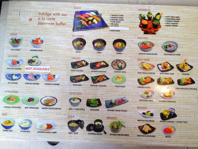minori-ala-carte-buffet-menu