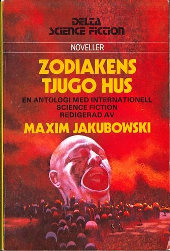 Maxim Jakubowski (Ed.), Zodiakens tjugo hus [Twenty Houses of the Zodiak] (1979 - Delta Science Fiction [99])