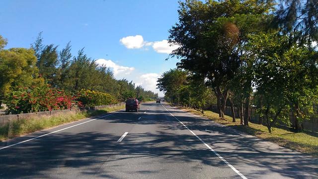 Driving at 90kmph