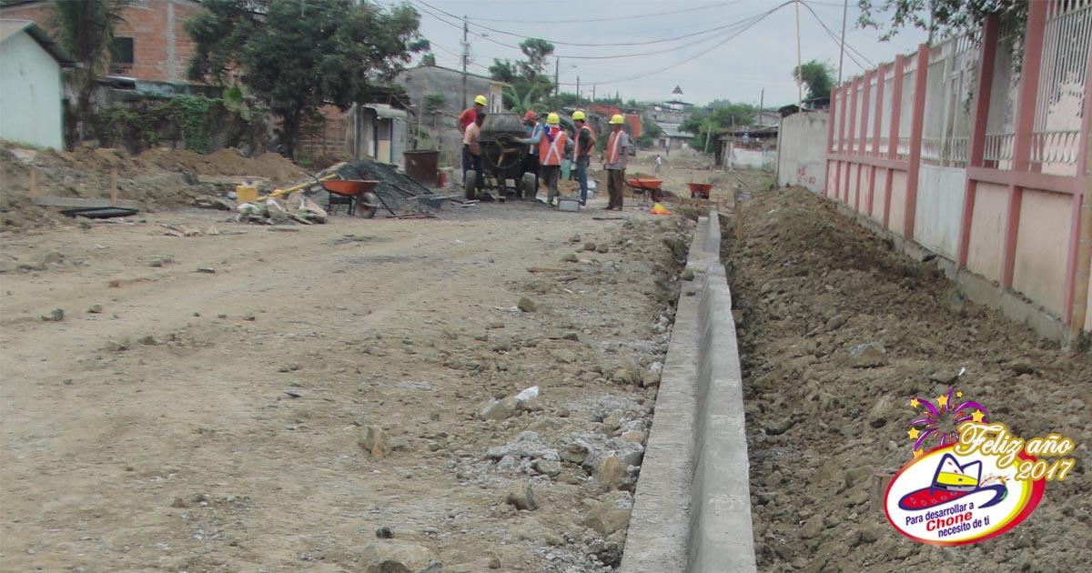 Trabajos en calle Ayacucho