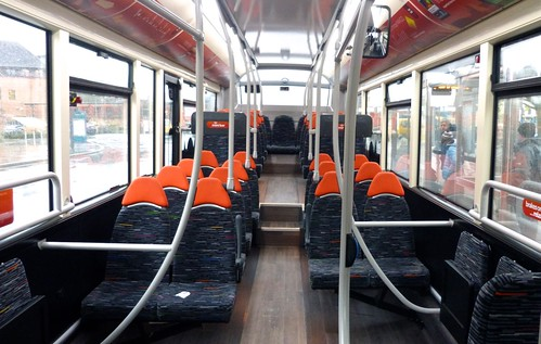 'trentbarton' Alexander Dennis Ltd. Enviro 200MMC / interior 1 on 'Dennis Basford's railsroadsrunways.blogspot.co.uk'