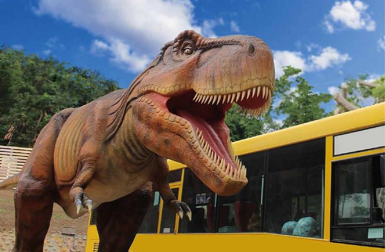 員林景點 百果山親子探索樂園 恐龍主題樂園01