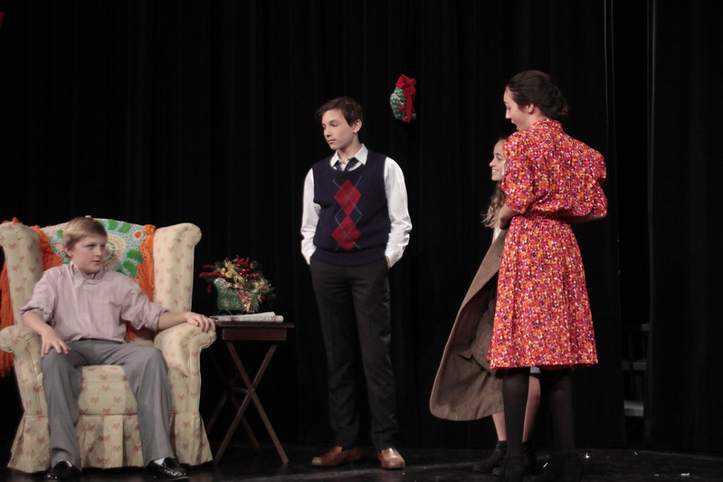 sixth and seventh graders performed the best christmas pageant ever as their annual play see pictures on flickr