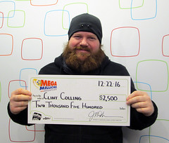 Clint Colling - $2,500 Mega Millions