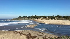 California King Tide/Carmel River Beach/Carmel River Lagoon