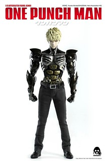 threezero 一拳超人【魔鬼生化人:傑諾斯】ONE–PUNCH MAN GENOS 1/6 比例人偶作品